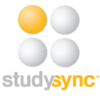 study sync logo 1 yellow dot 3 white dots